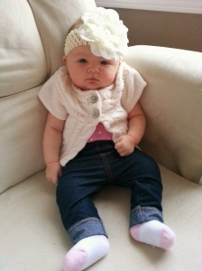 I think she has a future in headband modeling