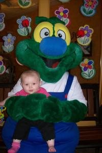 4_19 Kenzie meeting Mr. Doodlebug