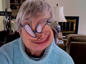 Aunt Lorraine zany