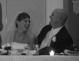 Wedding laughs