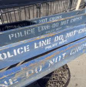 police barracades